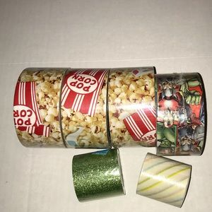 Other - 6 Rolls of tape, Duck Tape & Heidi Swapp Tape